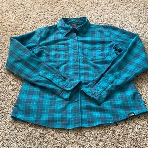The North Face women's Small button down